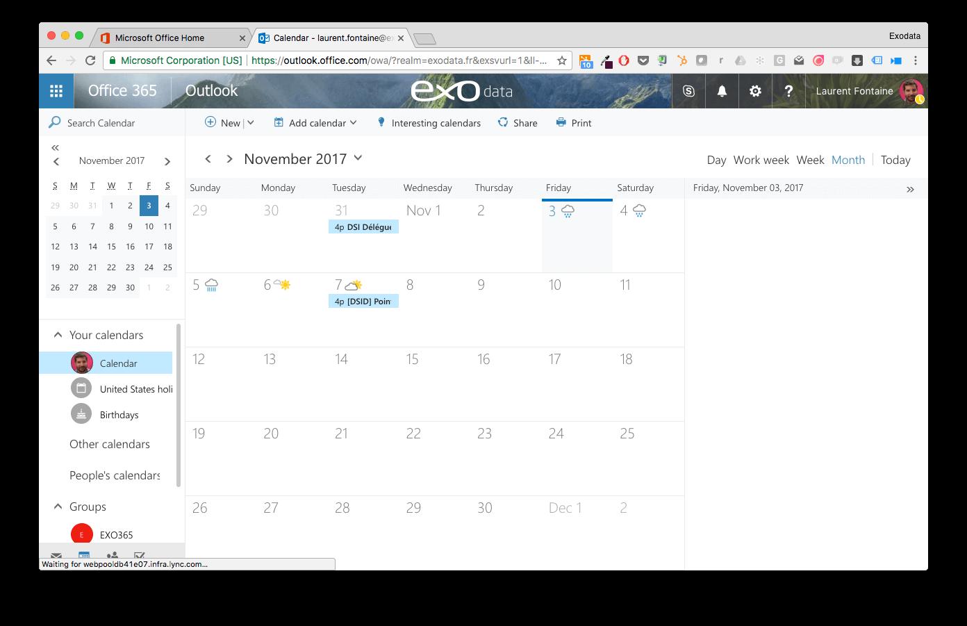 Office 365 _ Calendar